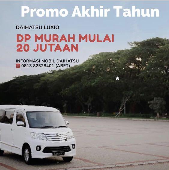PROMO DP MURAH Daihatsu Luxio mulai 20 jutaan