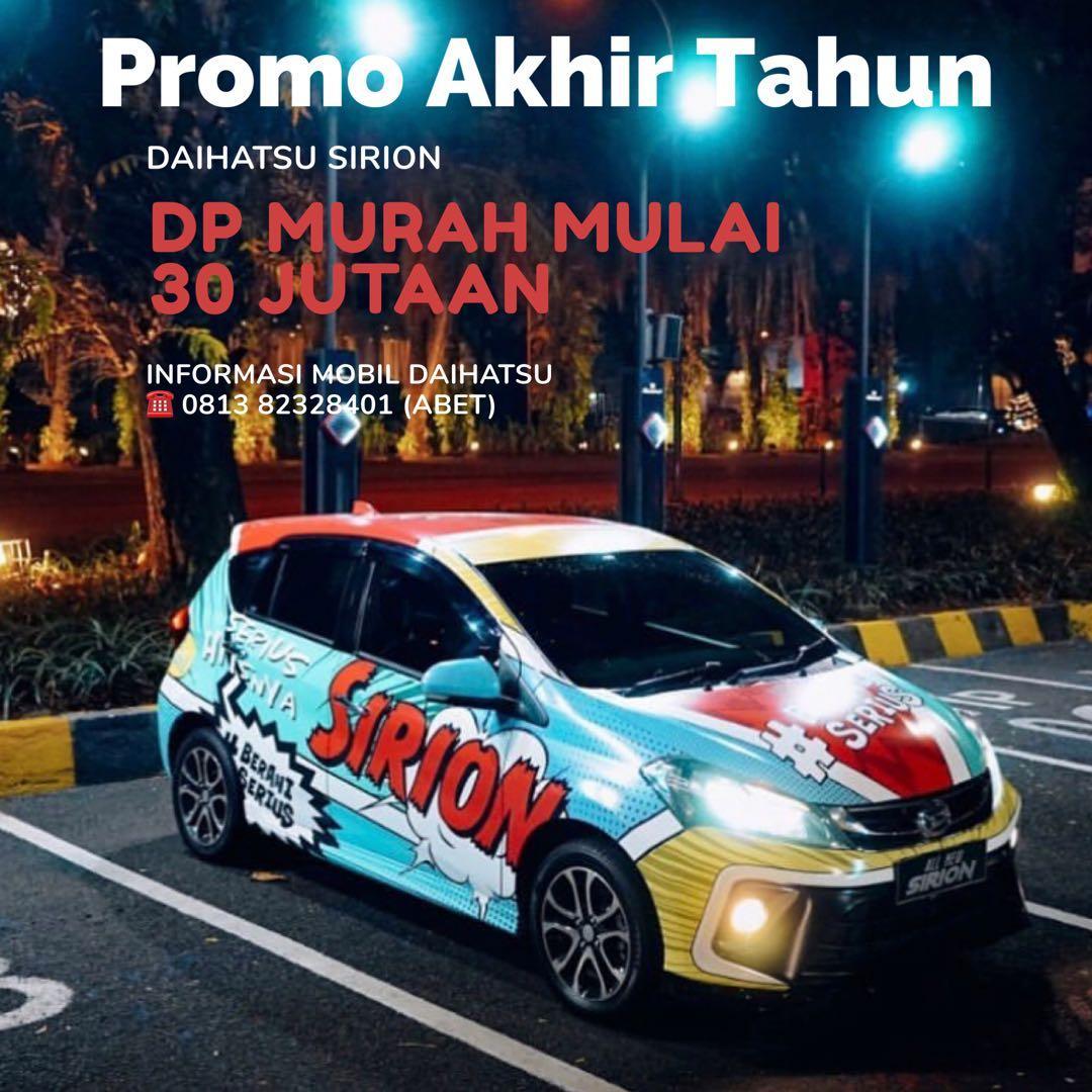 PROMO DP MURAH Daihatsu Sirion mulai 30 jutaan. Daihatsu Fatmawati