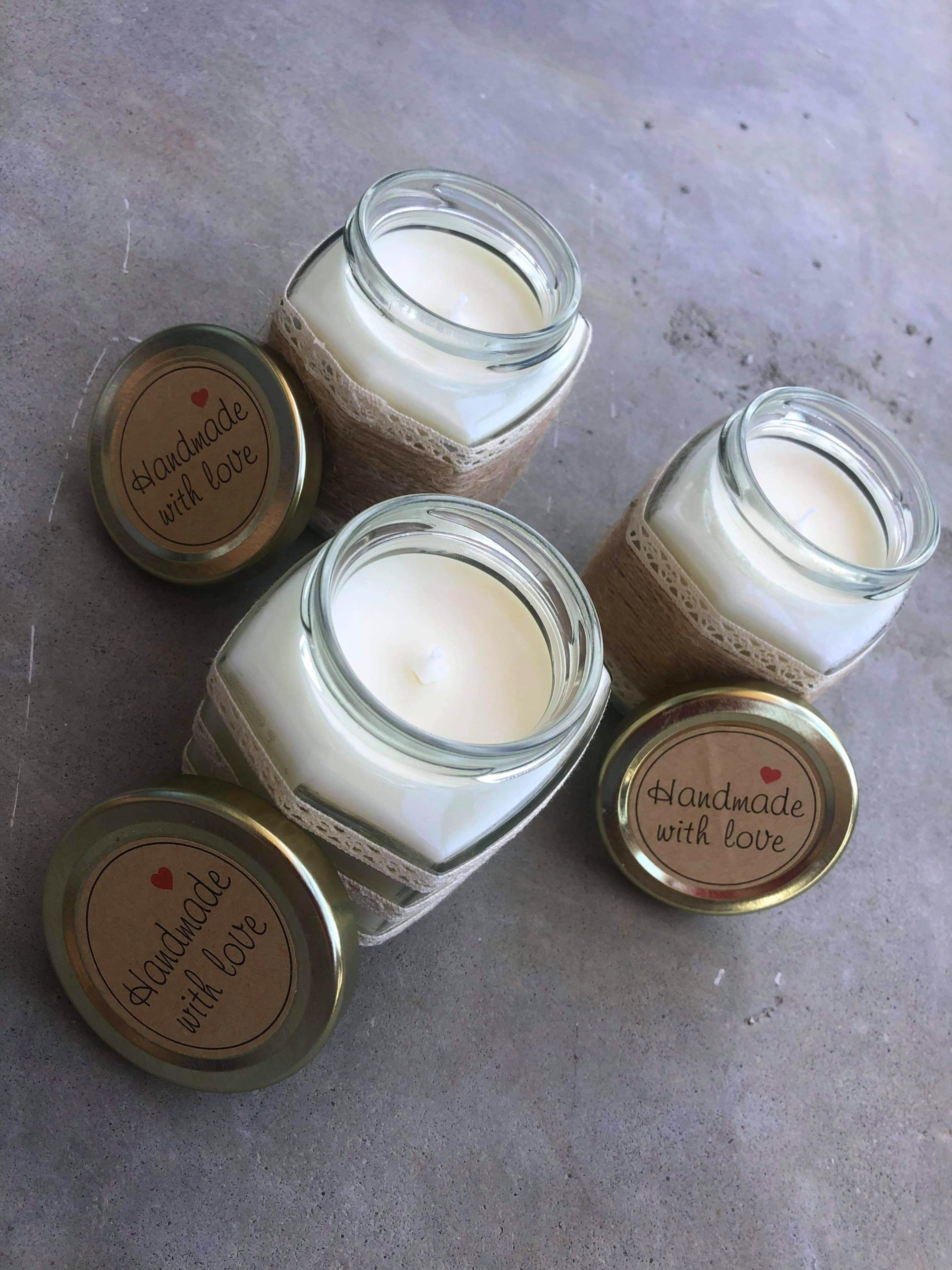 PURE SOY CANDLES, HANDMADE IN VINTAGE VESSELS