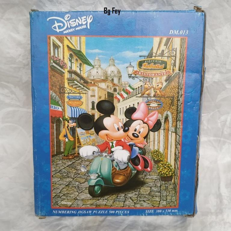 Puzzle Jigsaw 500 Pieces Disney Mickey Mouse - Sale in Thailand Only