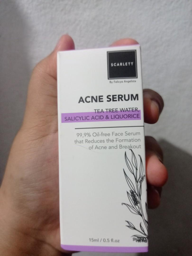 Scarlet serum acne