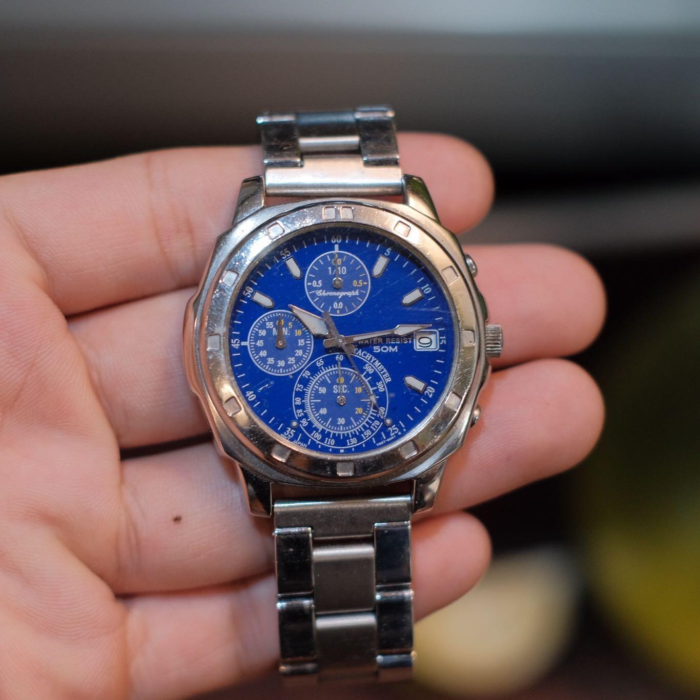 Seiko 二手寶藍手錶