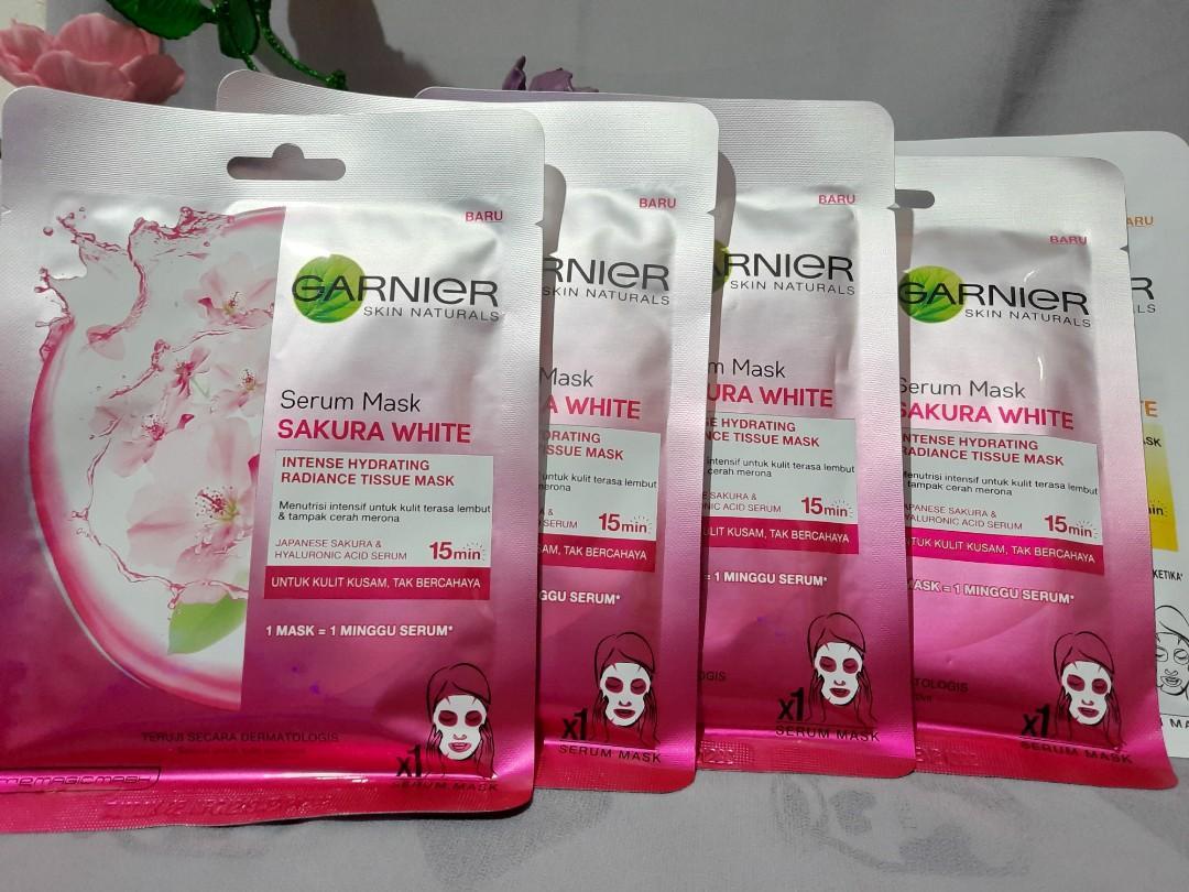 Serum Mask Sakura White - Garnier