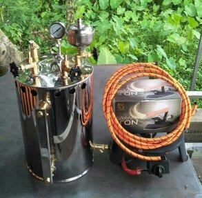 Setrika Uap Boiler Mini