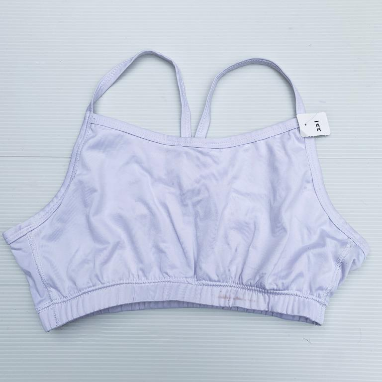 Size M Sport Bra for Woman in White