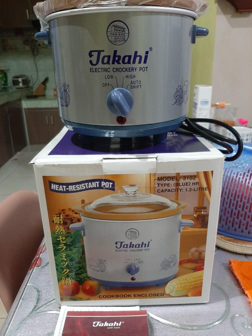 Slow Cooker Takahi 98watt