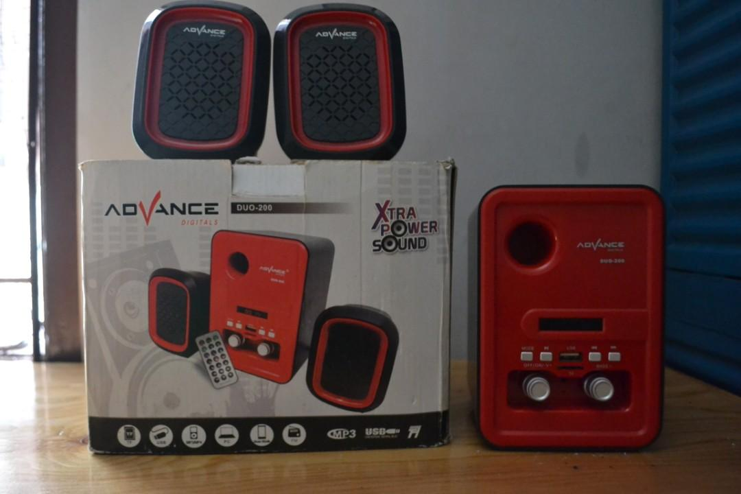Speakers Advance DUO-200