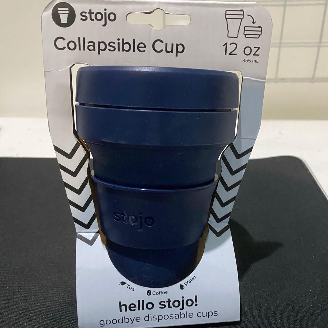 Stojo Collapsible Cup 12oz Navy #mauovo