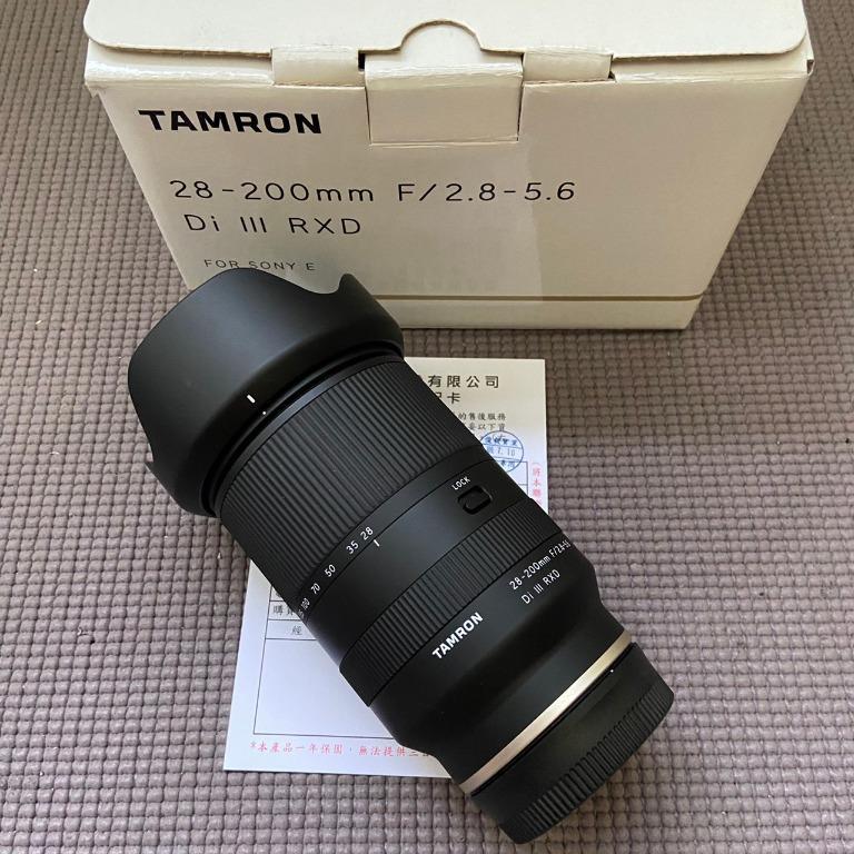 TAMRON 28-200mm F2.8-5.6 Di III RX 公 for sony e