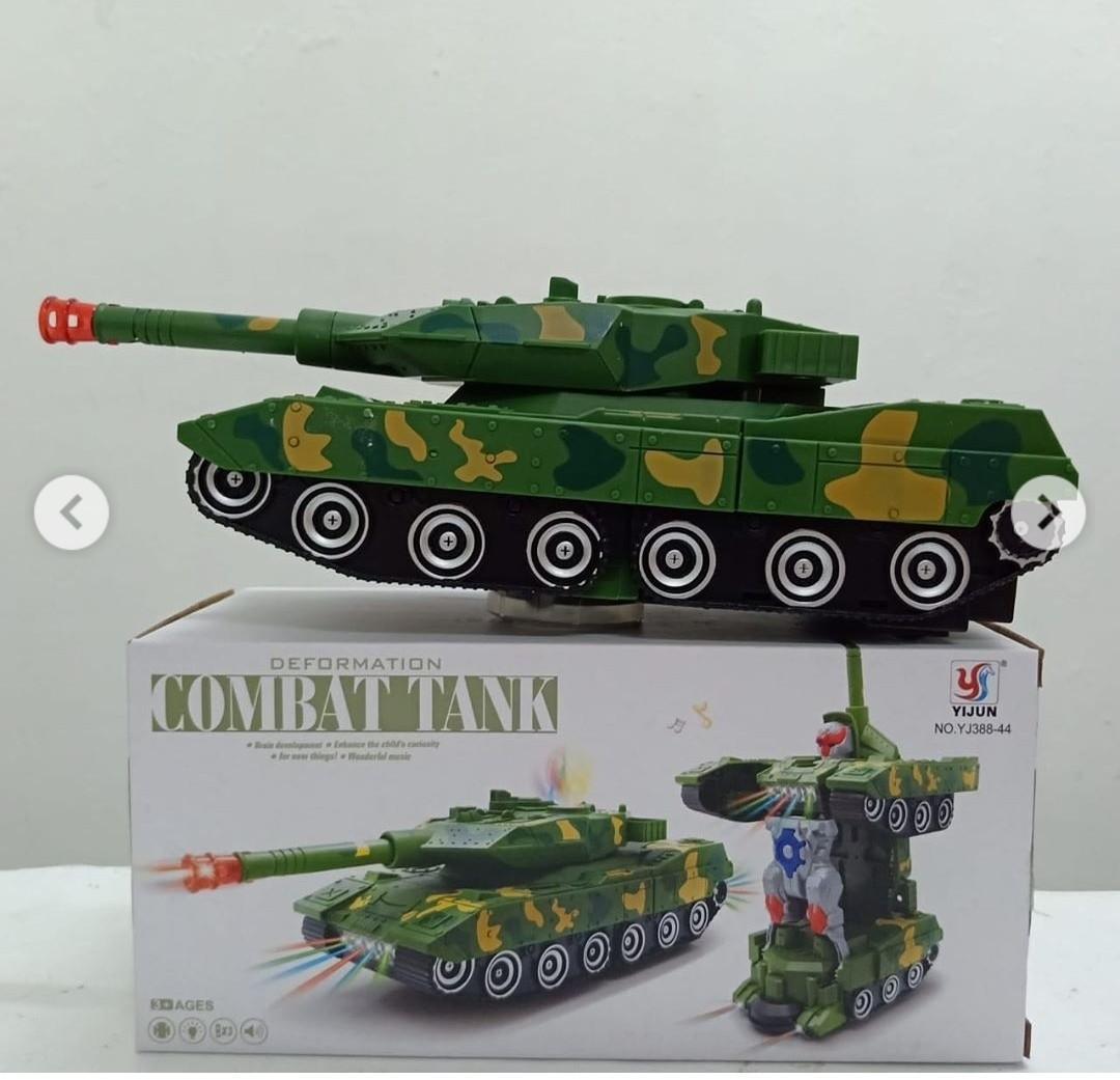 Tank combat