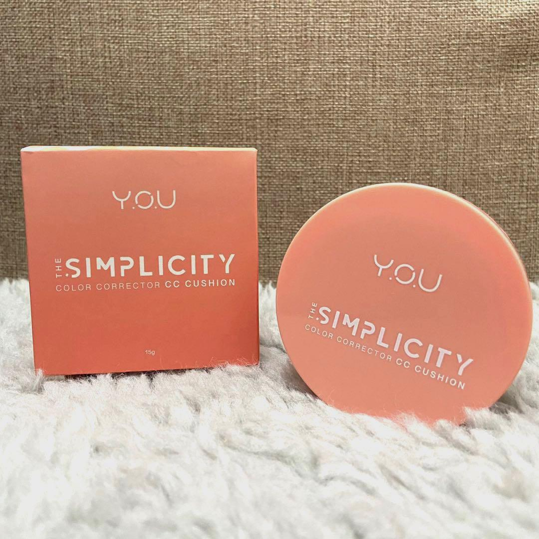 YOU BB Cushion The Simplicity Color Corecting Cushion
