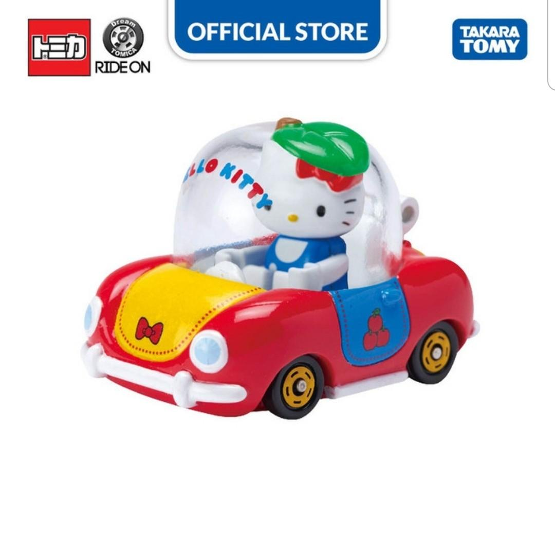 Tomica Dream Ride On R-02 Hello Kitty x Apple Car Original