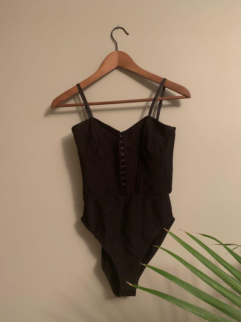 TOPSHOP corset body suit