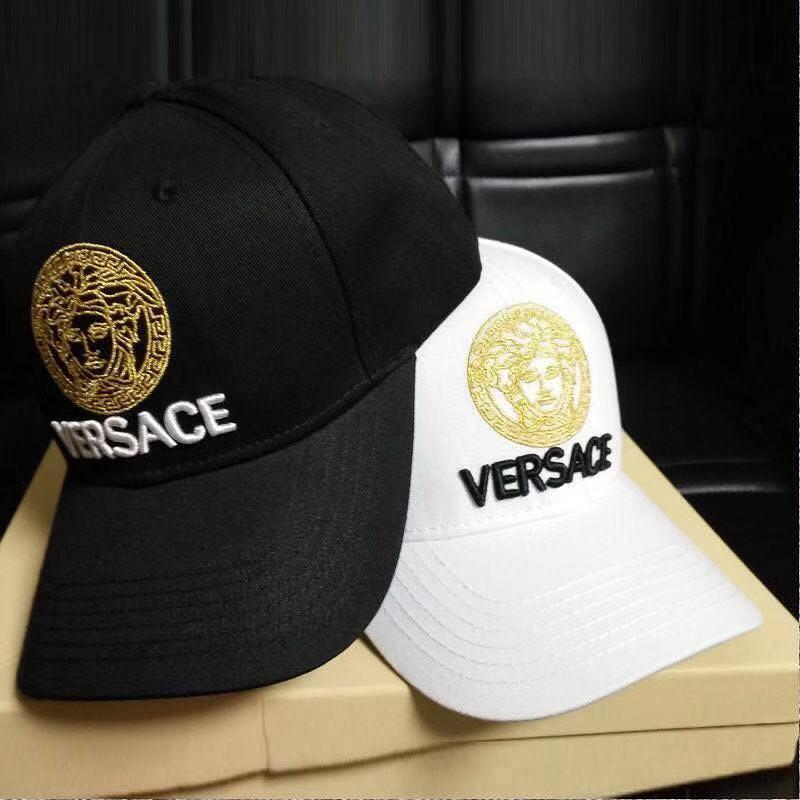 Versace fashion hat