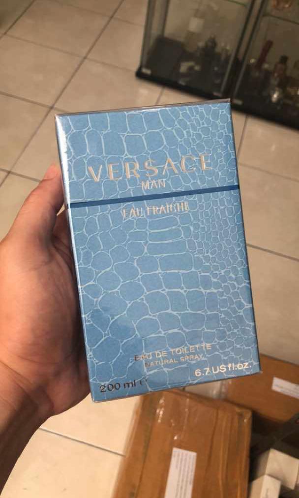 Versace Man Eau Fraiche Jumbo 200 ml Only 1 pcs Sale 630k