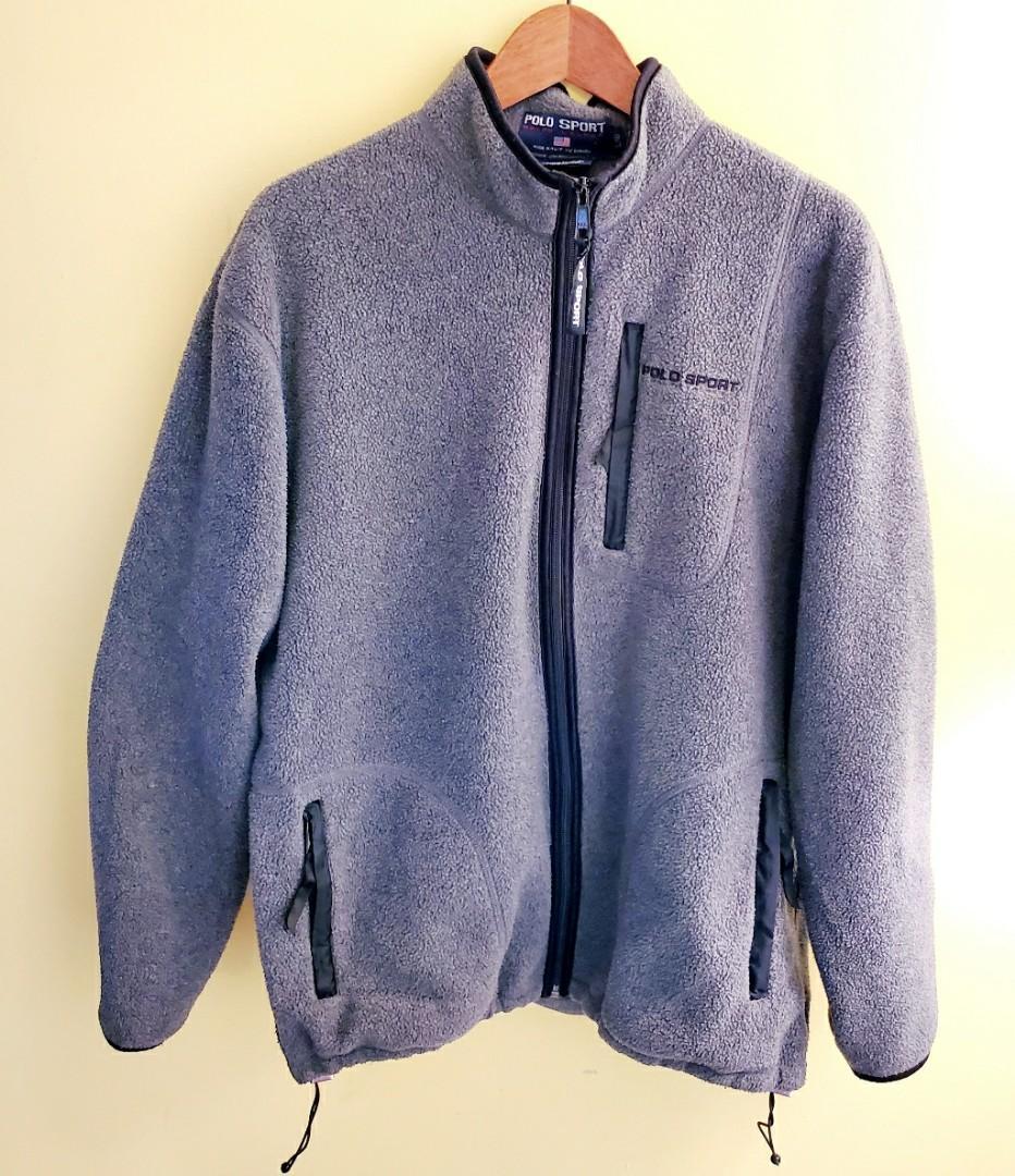 Vintage Polo Sport & Ralph Lauren Fleece Jacket