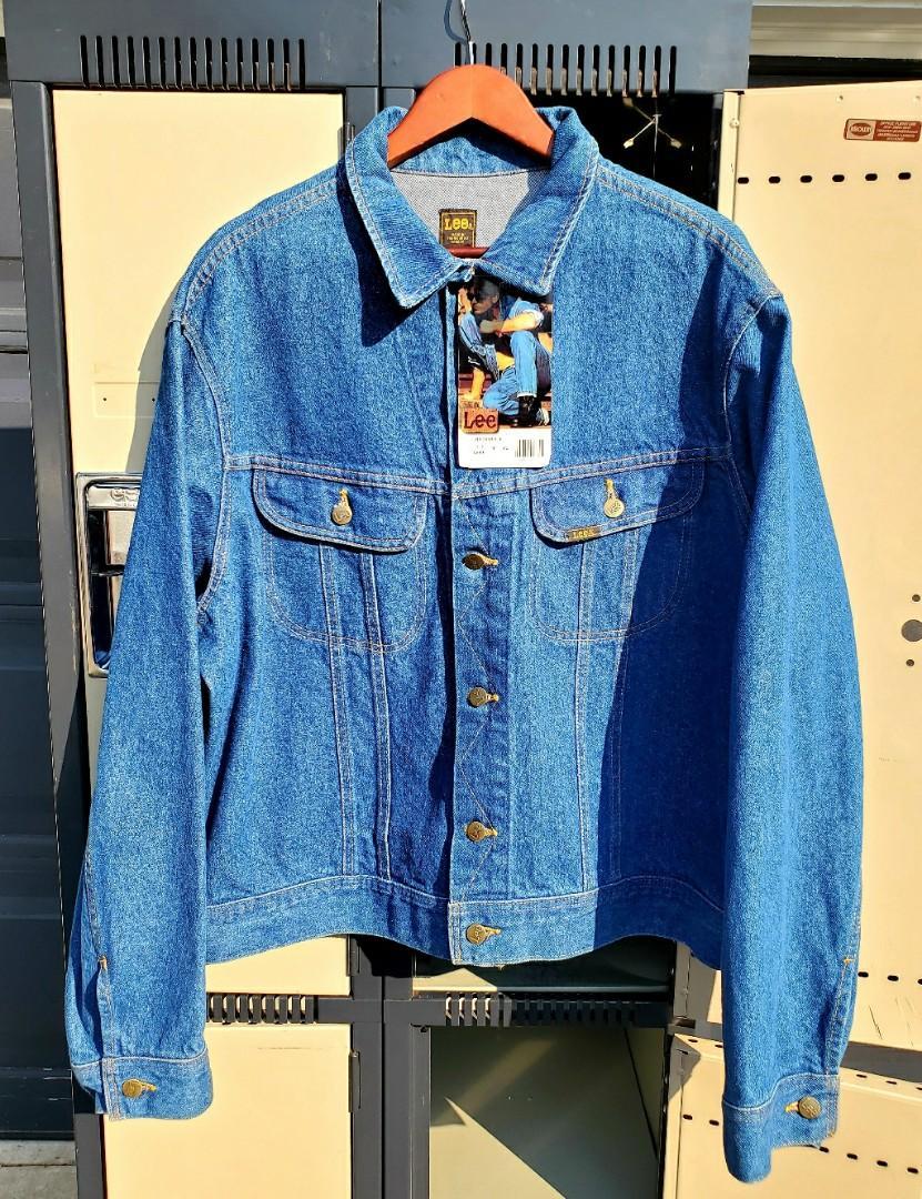 Vintage Rare 80's Deadstock Lee Denim Jacket