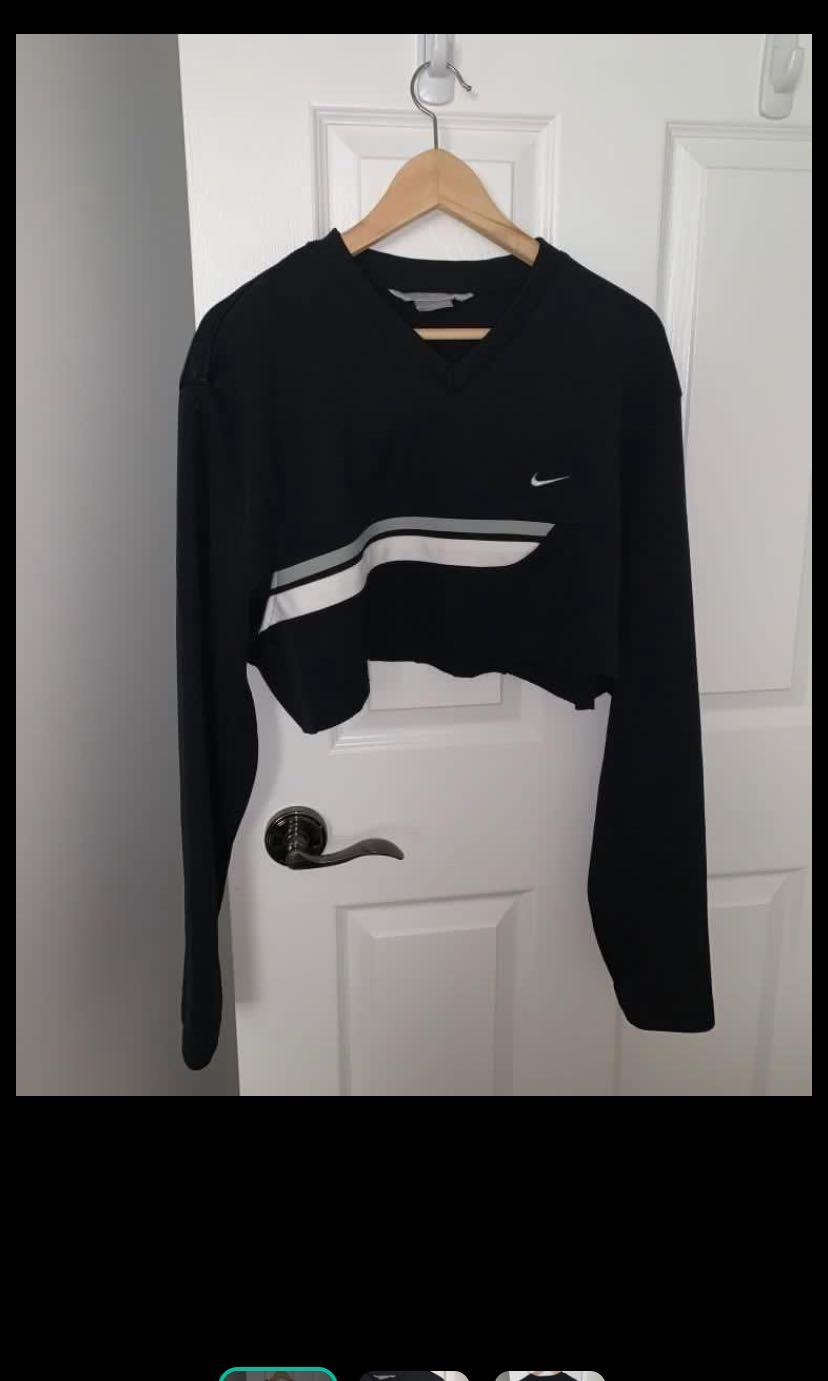 Vintage Thrifted Nike Crop Sweater