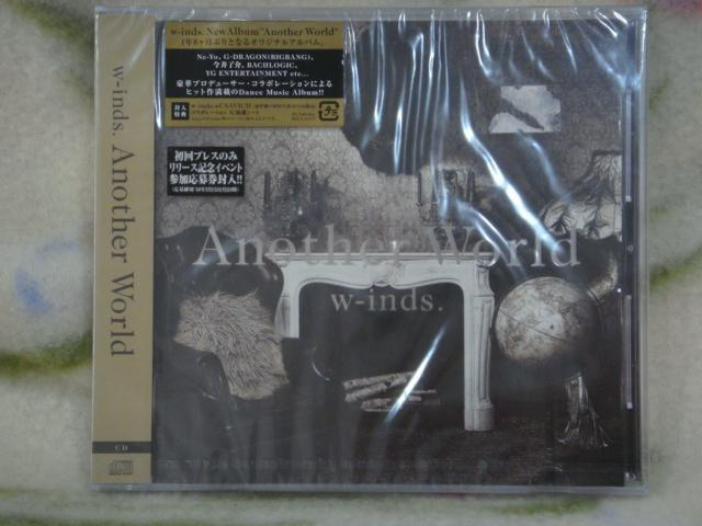 W-inds cd=Another World (2010年發行,全新未拆封)