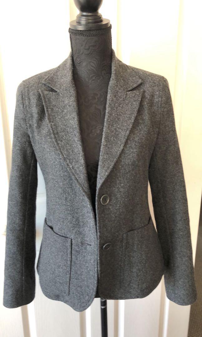 Work shop grey blazer / jacket