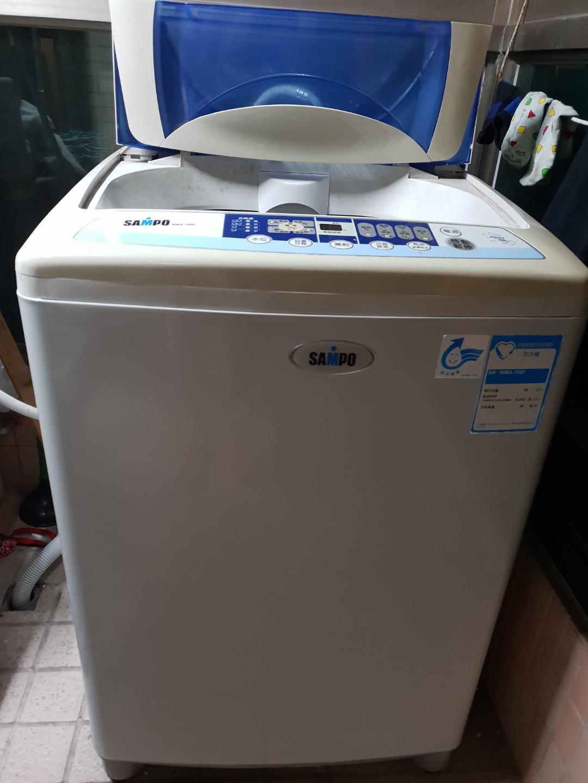 聲寶10kg洗衣機