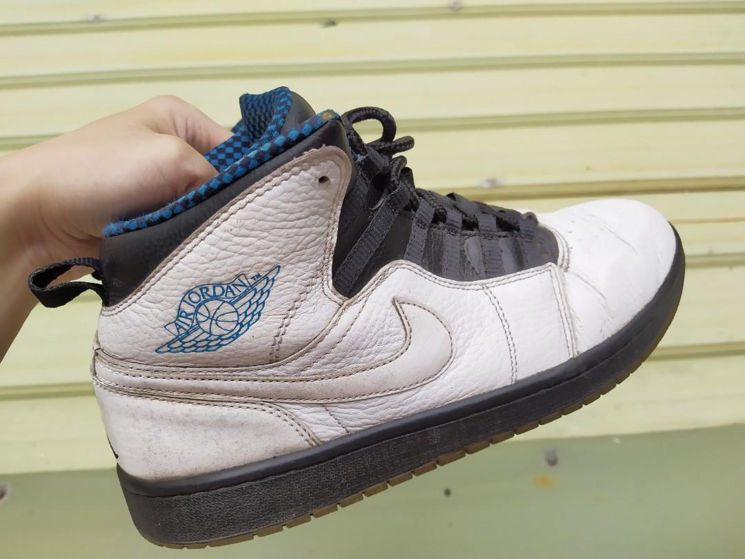 正品 NIKE Air Jordan 1 Retro 94 水晶底 白藍色 籃球鞋  631733-106
