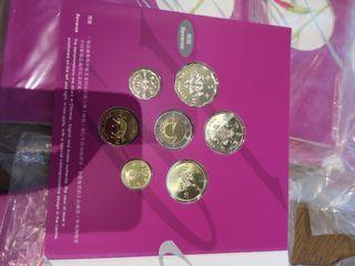 香港回歸套幣每套$200