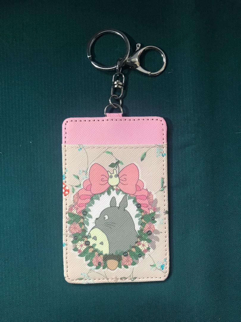 龍貓鑰匙圈卡夾