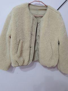 泰迪熊毛毛外套