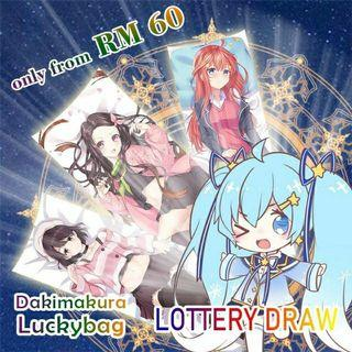 Dakimakura Luckybag (Fast delivery)