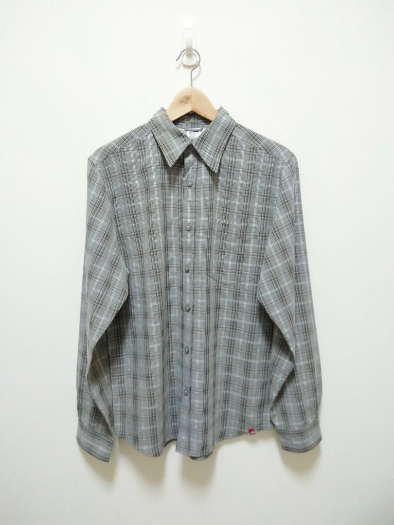 🔥 The North Face 長袖 襯衫 休閒 戶外 百搭 稀有 老品 古著 復古 Vintag
