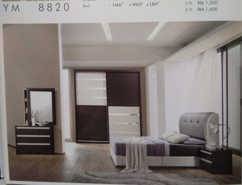 Aldwin Bed Room Set 88820 Home Furniture Furniture On Carousell