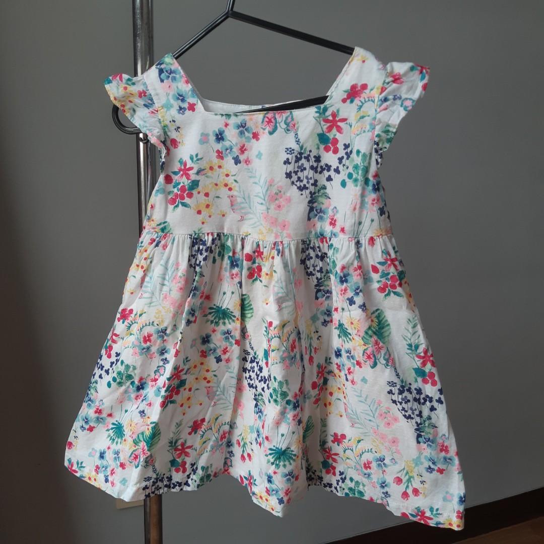 Baby Bgosh 4T girl flower dress