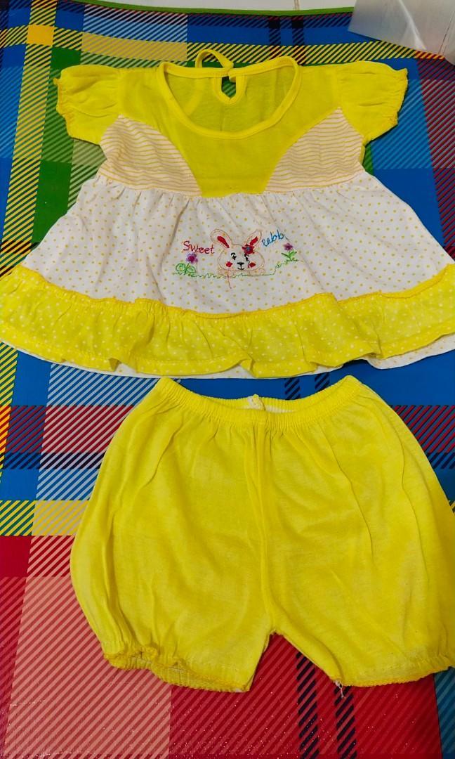 Baju bayi kuning #oktoberovo