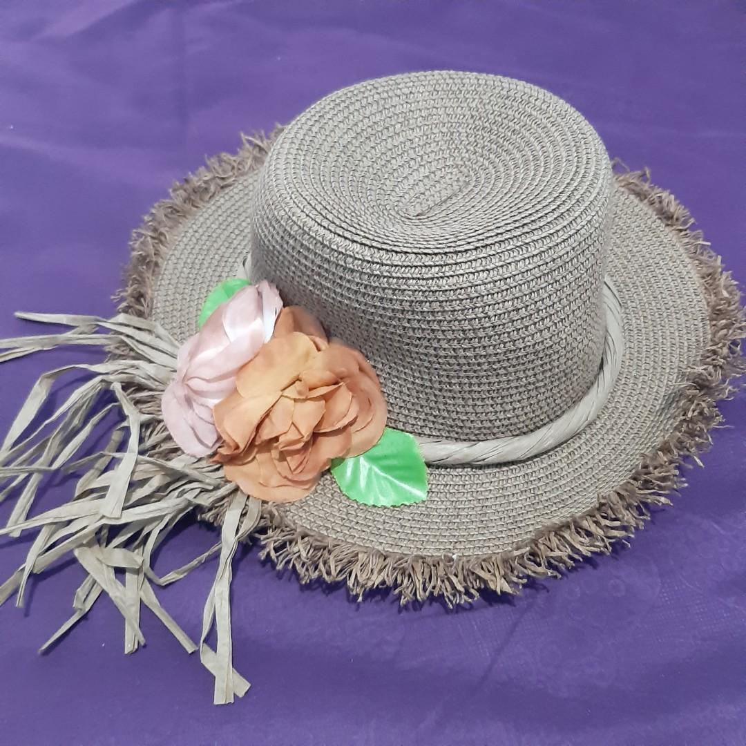 Beach Hat, FREE untuk min. 50k