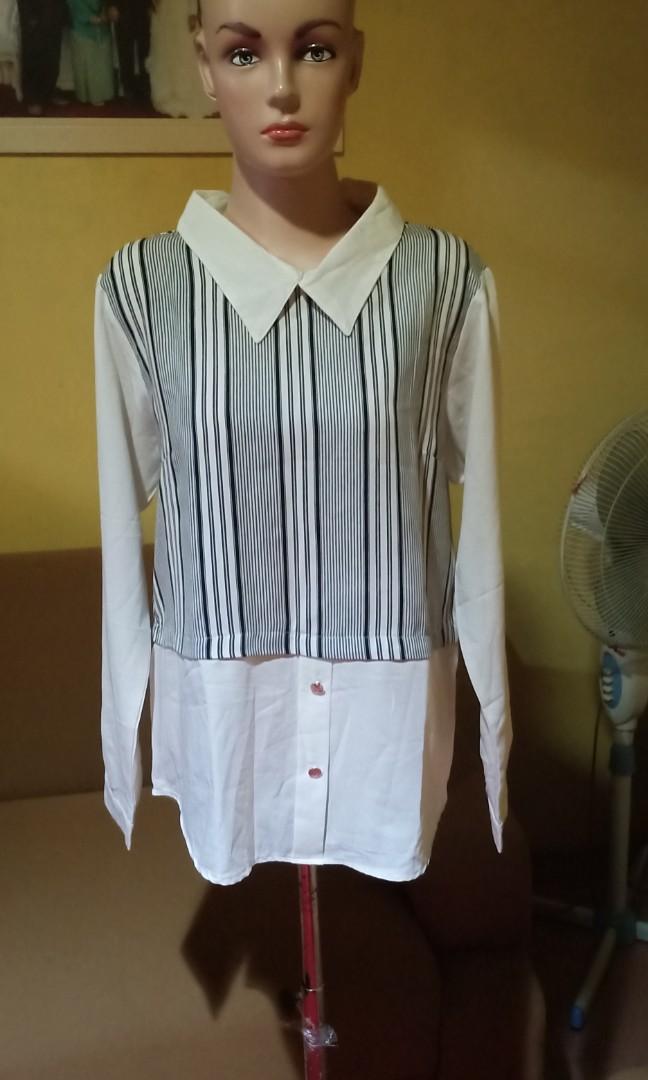 blouse kerah cangtip