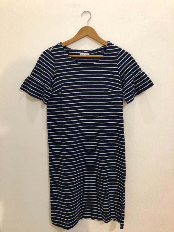 Blue stripes dress Target
