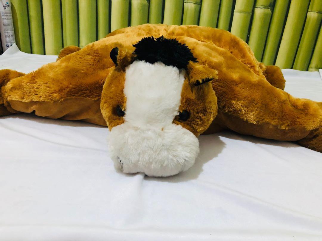 Boneka Lipat Bantal Pony Horse Brown