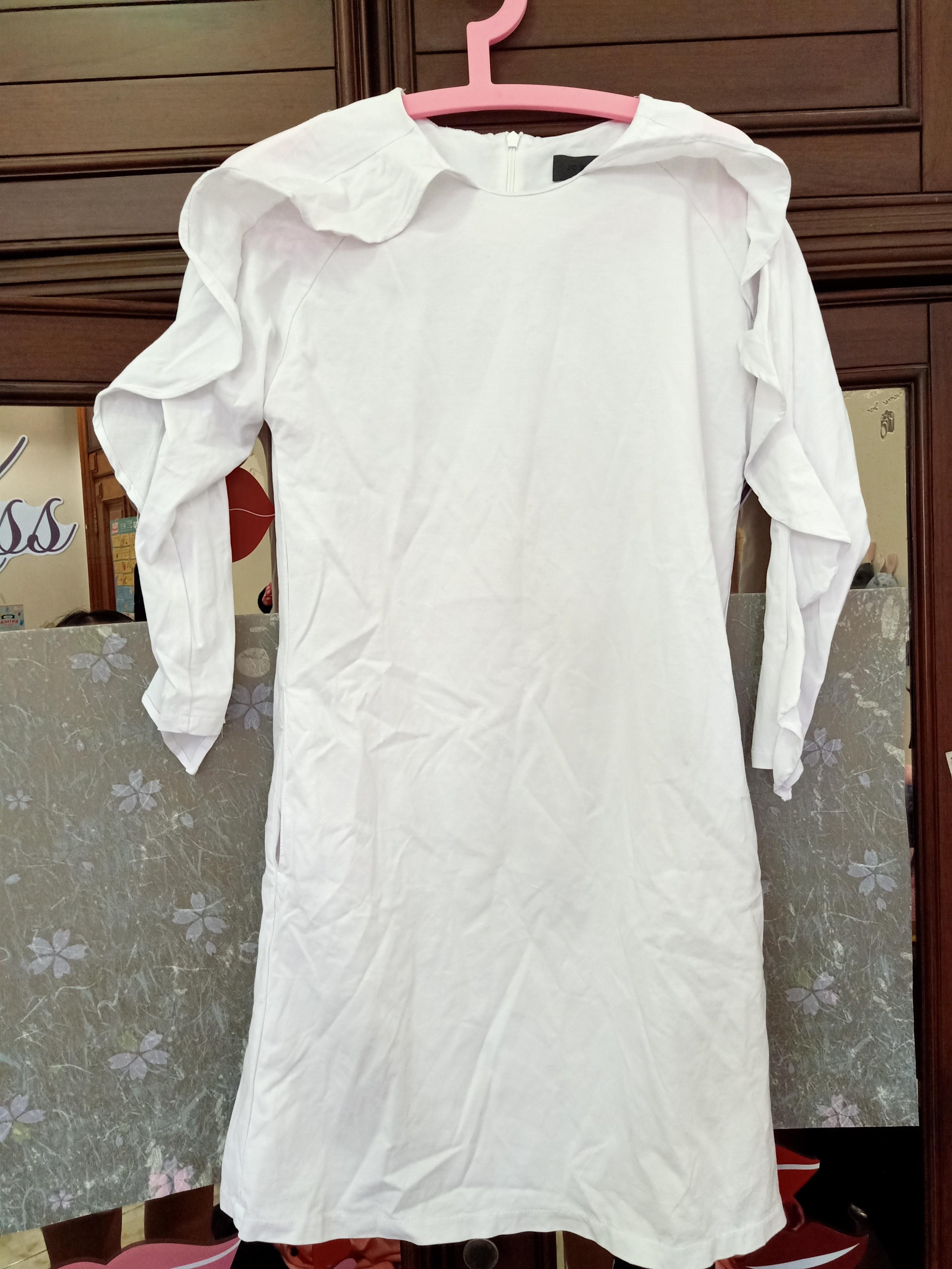 Branded Jo Burton Dress Putih (open barter)