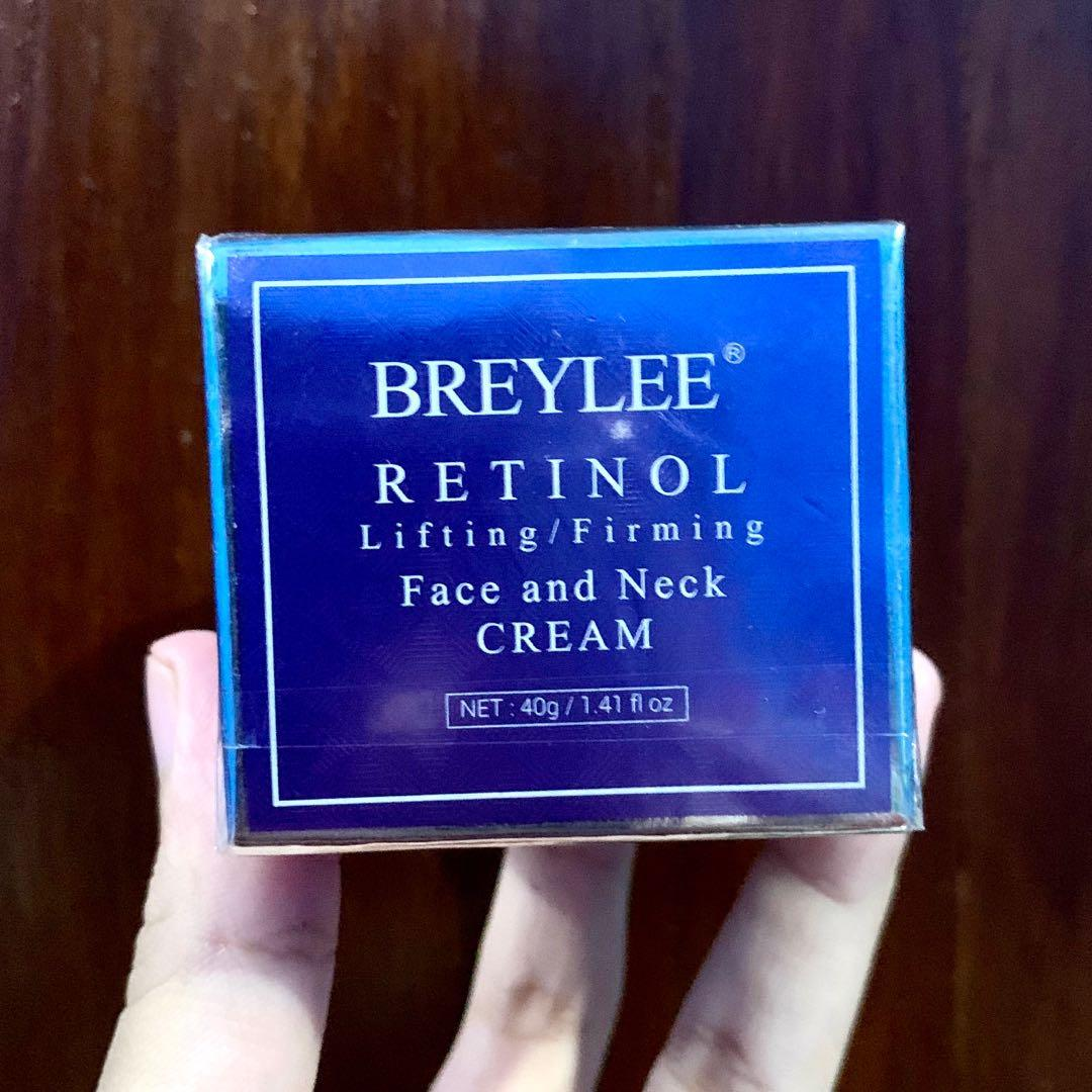 BREYLEE retinol lifting firming Face and Neck CREAM