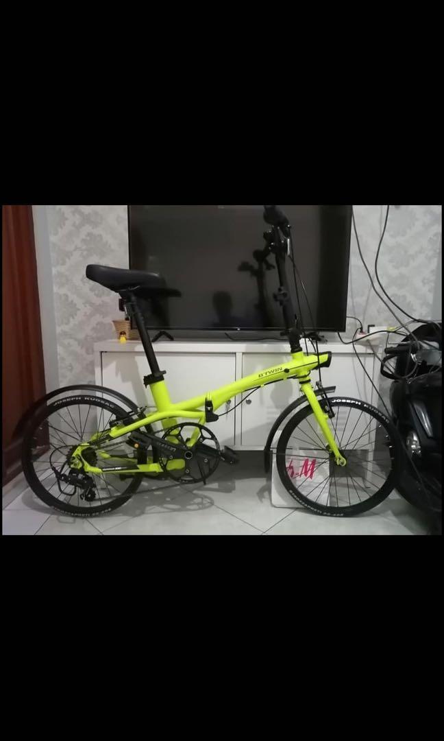 "BTwin Sepeda Lipat (20"")"