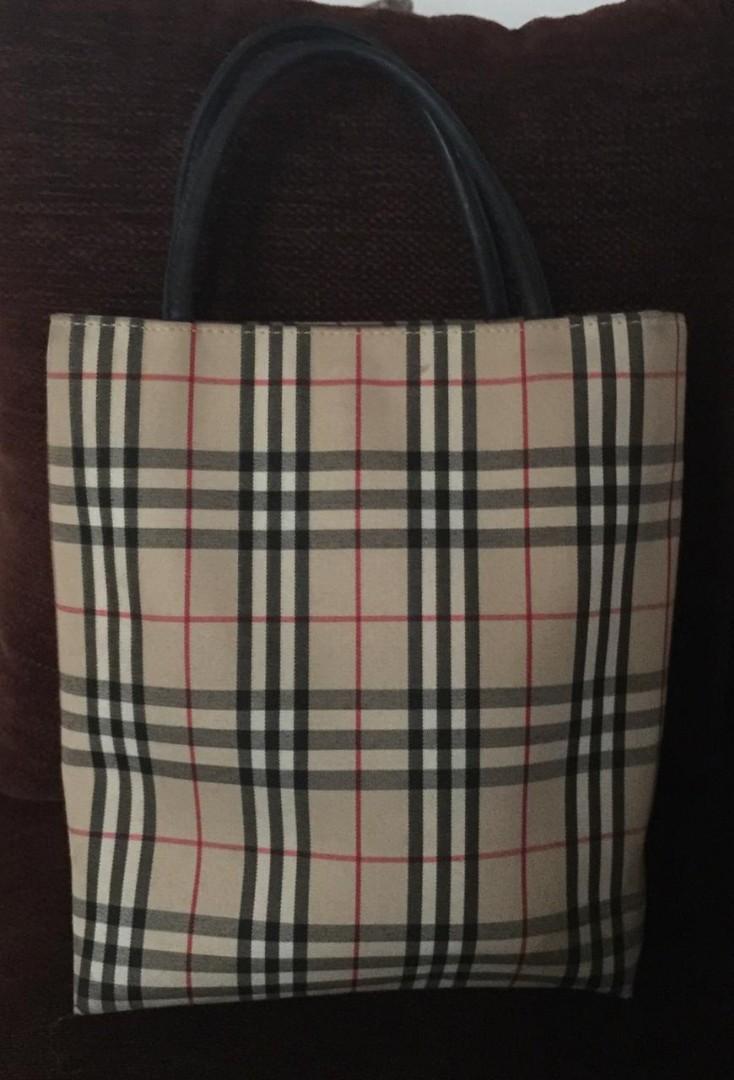 Burberry Mini Tote Bag AUTHENTIC