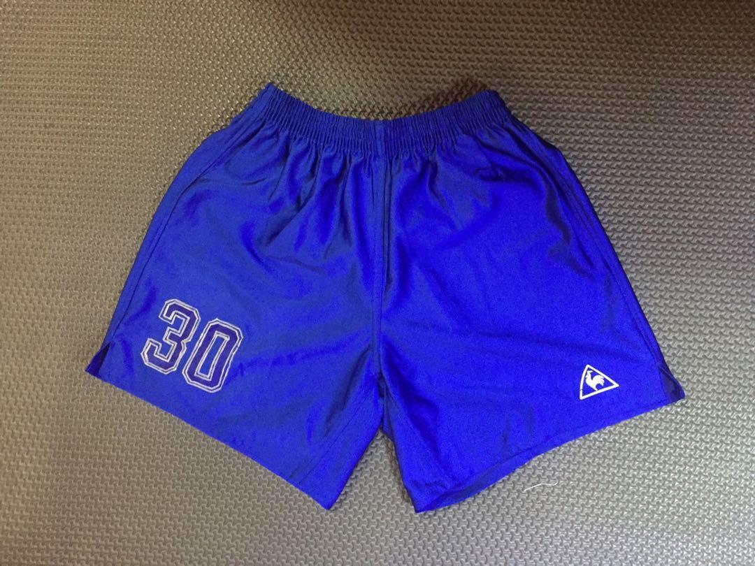 Celana olahraga bola vintage biru
