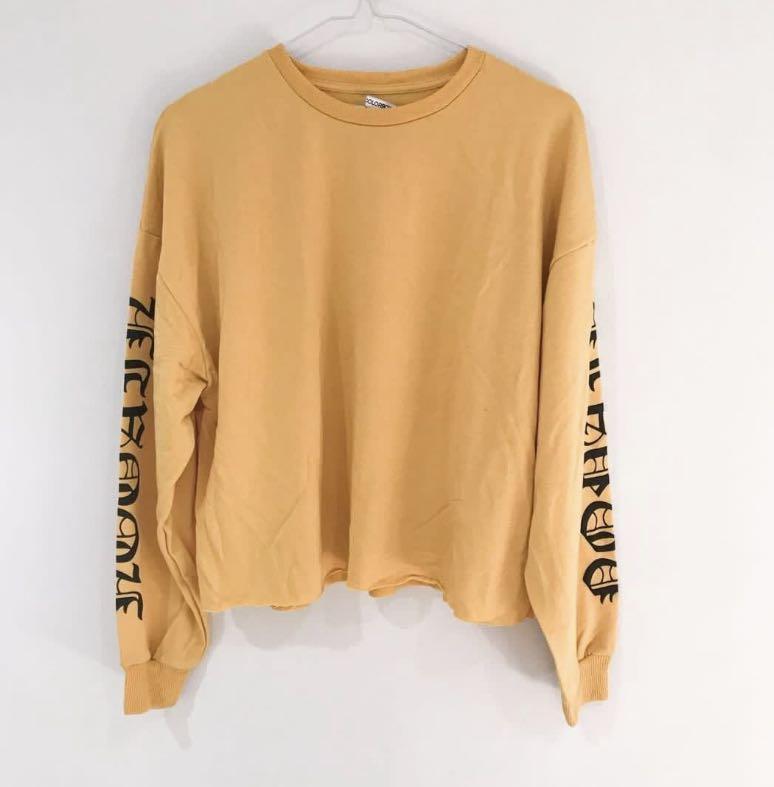 Colorbox Mustard Sweater (Roman)