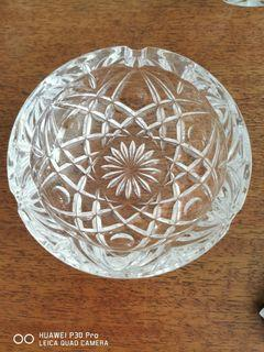 Crystal Ash tray, made in France
