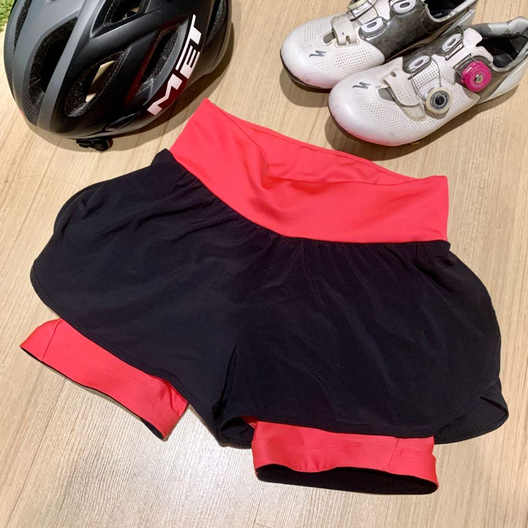 Decathlon cycling shorts (Women's)