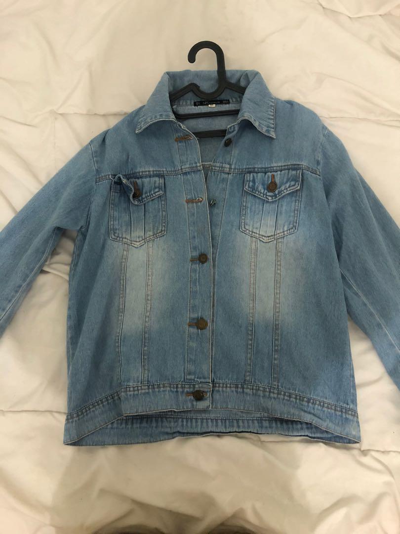 Denim Washed Jacket
