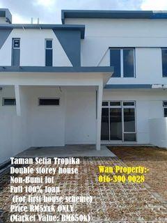 Taman Setia Tropika @ House For Sale (with 100% loan)