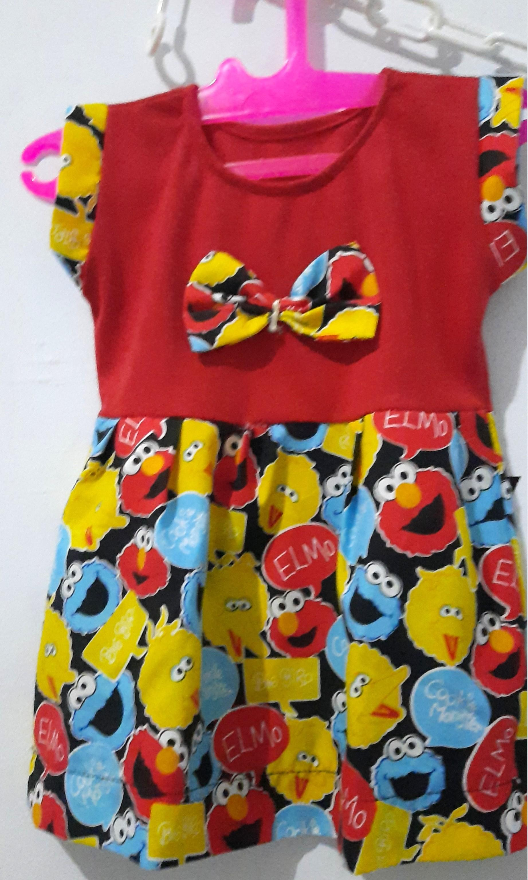 Dress katun elmo