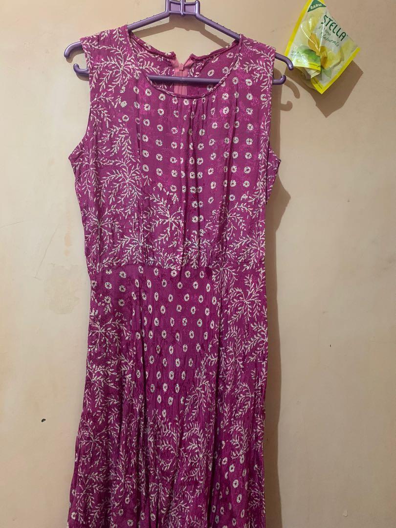 Flower Dress purple pink